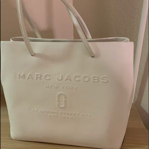 Marc Jabobs Logo East/West Leather Tote